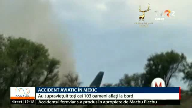 Accident aviatic în Mexic