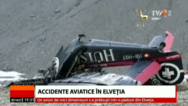 Accidente aviatice în Elveția