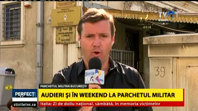Audieri si in weekend la Parchetul General