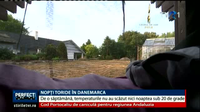 Nopti toride in Danemarca