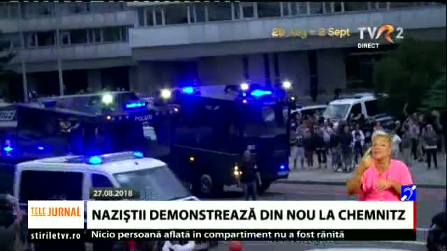 Naziștii demonstrează la Chemitz