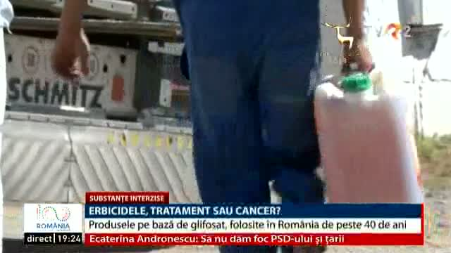 Erbicidele, tratament sau cancer?