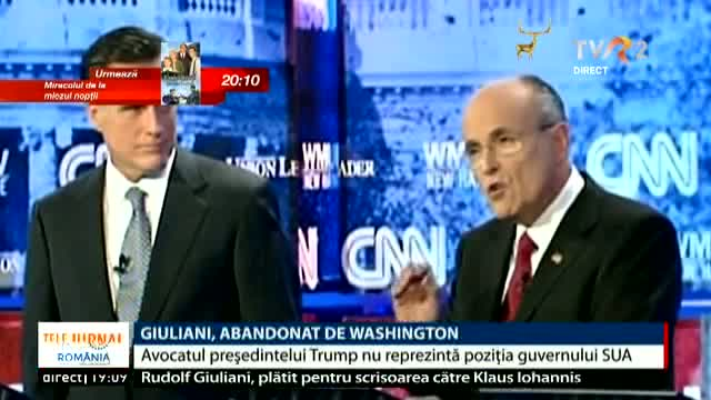 Giuliani, abandonat de Washington