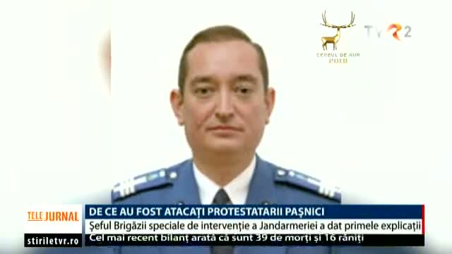 Jandarmeria are un nou șef interimar