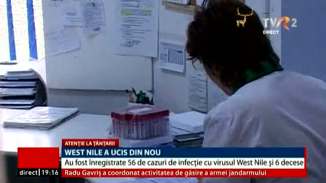 West Nile a ucis din nou