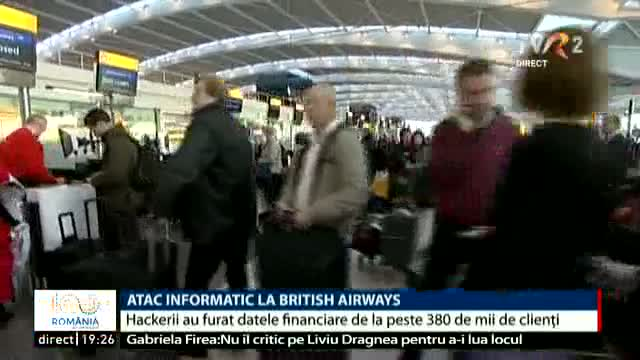 Atac informatic British Airways