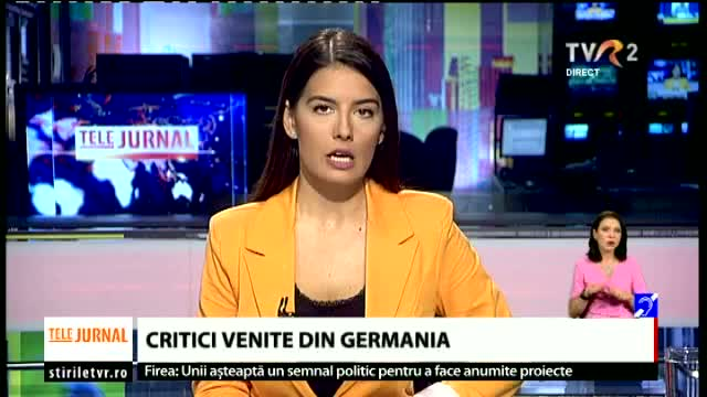 Critici venite din Germania