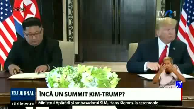 Încă un summit Kim-Trump