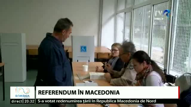 Referendum în Macedonia