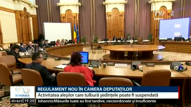 Regulament nou la Camera Deputaților