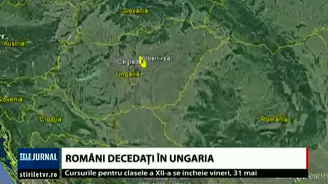 Accident în Ungaria