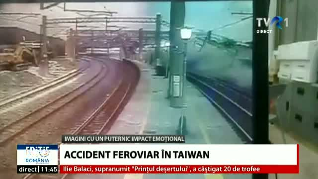 Accident feroviar în Taiwan