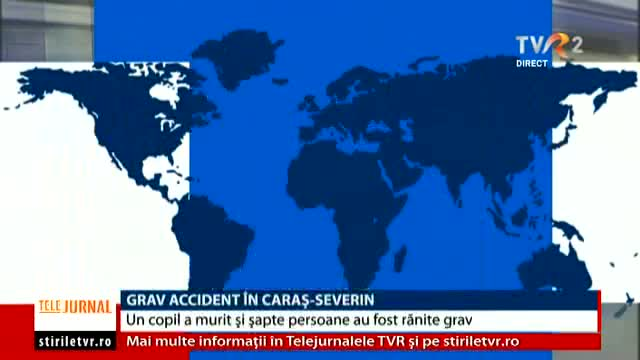 Grav accident în Caraș Severin