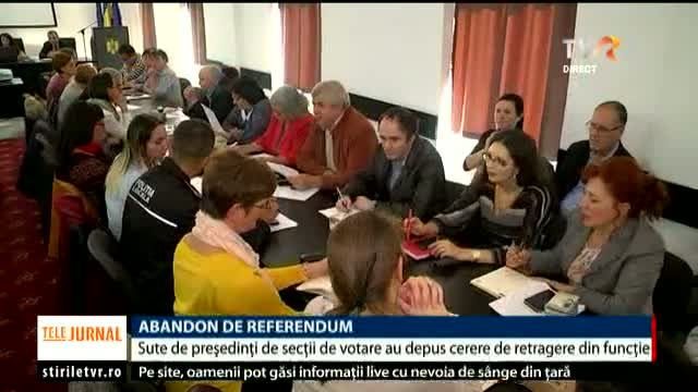 Abandon de referendum