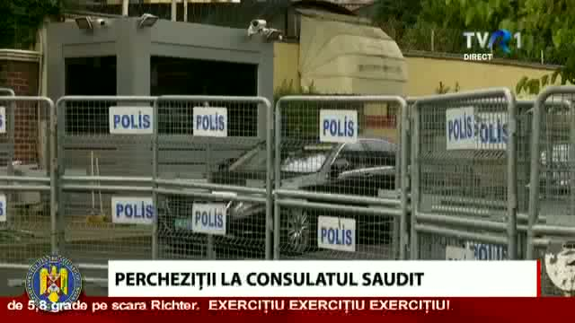 Percheziții la consulatul saudit