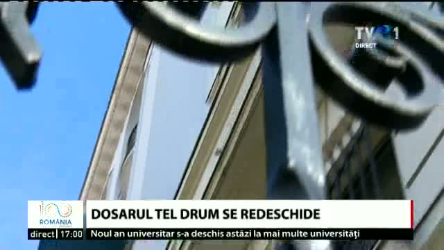 S-a redeschis dosarul Tel Drum