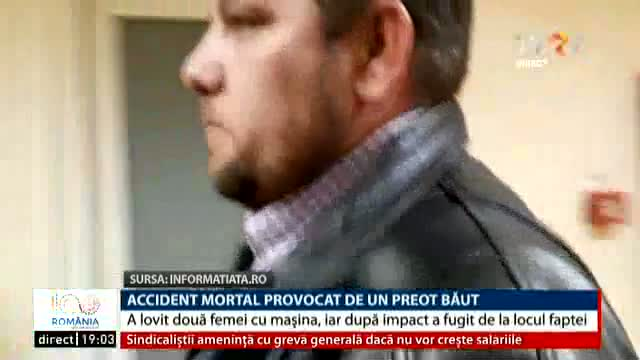 Accident mortal provocat de un preot băut