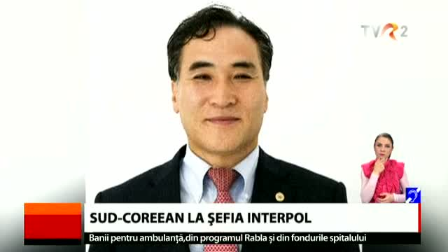 Sud-coreean la șefia Interpol