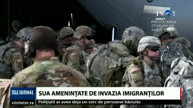 SUA, amenințate de invazia imigranților