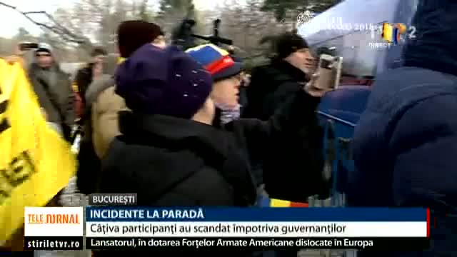 Incidente la Paradă