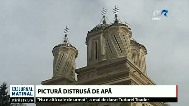 Pictura distrusa de apa