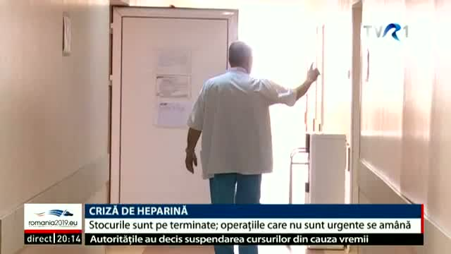 Criză de heparină