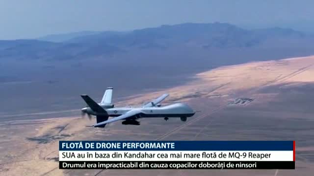 Flotă de drone performante