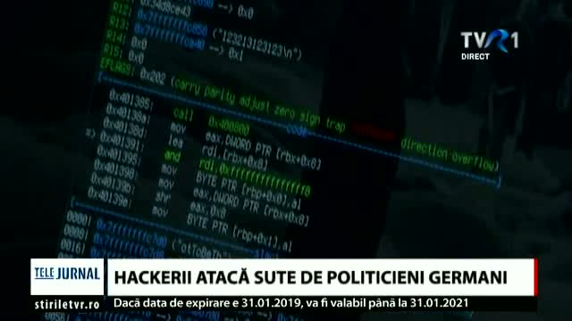 Hackerii atacă politicienii germani