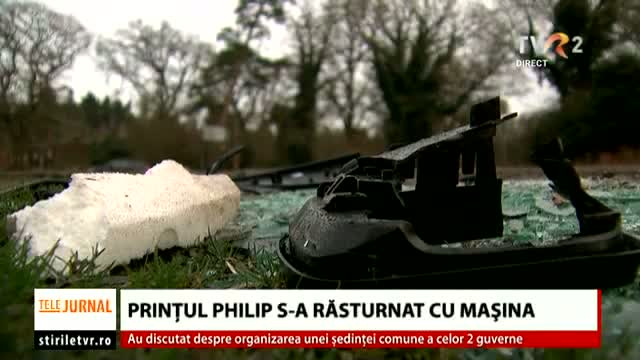 Prințul Philip se reface după accident