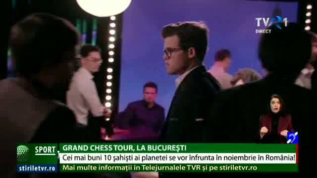 Grand Chess Tour, la București