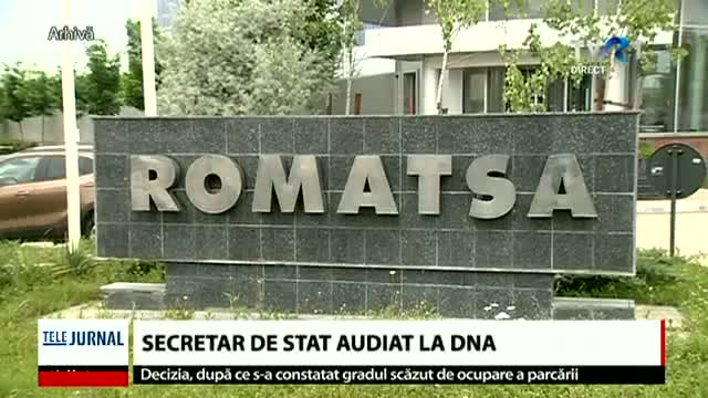 Secretar de stat audiat la DNA