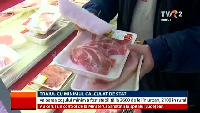 Traiul cu coșul minim