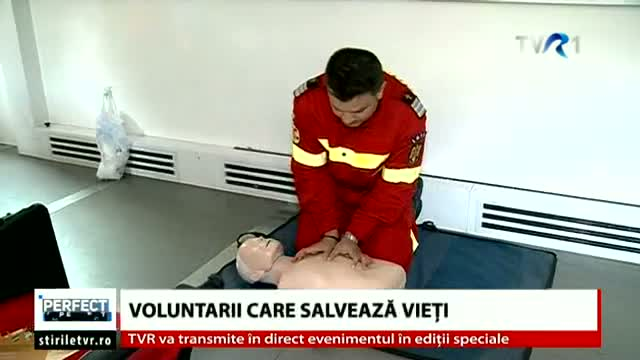 Voluntari care salveaza vieți
