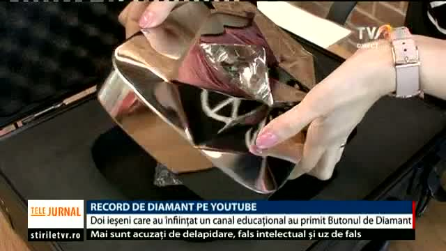 Record de diamant pe YouTube
