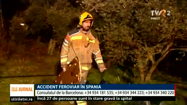 Accident feroviar în Spania
