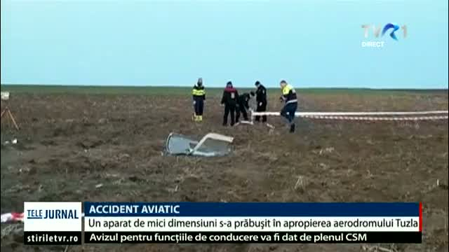 Accident aviatic la Tuzla