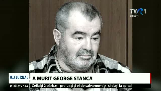 A murit George Stanca
