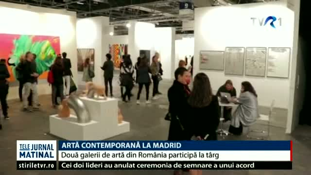 Artă contemporană la Madrid