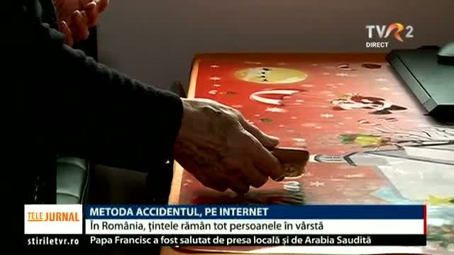 Metoda Accidentul, pe internet