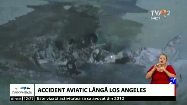 Accident aviatic lângă Los Angeles