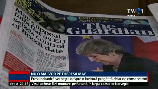 Nu o mai vor pe Theresa May