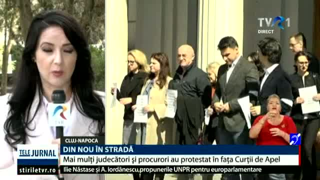 Protestul magistraților