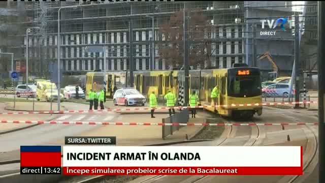 Incident armat în Olanda