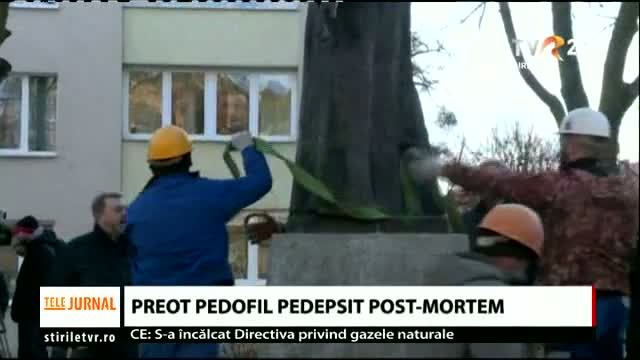 Preot pedofil pedepsit post-mortem