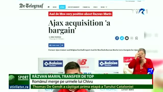 Răzvan Marin, transfer de top