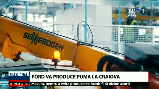 Ford, nou model la Craiova