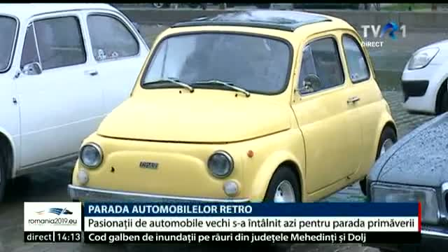 Parada automobilelor retro