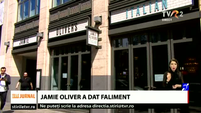 Jamie Oliver a dat faliment