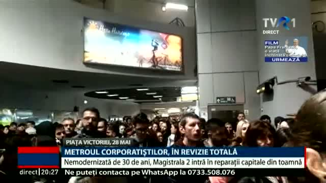 Metroul corporatiștilor, în revizie