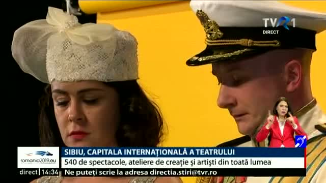 Sibiu, capitala internationala a teatrului